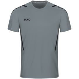 4221-841 Sportshirt  Challenge Steengrijs zwart