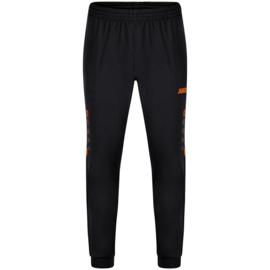 9221-807 Polyesterbroek Challenge Zwart fluo oranje