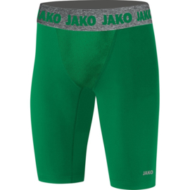 Short Tight Compression 2.0 kids groen