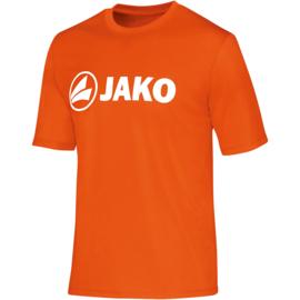 Promo sportshirt  Polyester interlock JAKO 6164-19 Fluo oranje