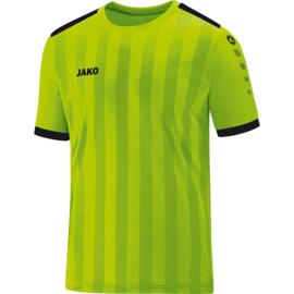 Shirt Porto 2.0 KM  fluogroen/zwart