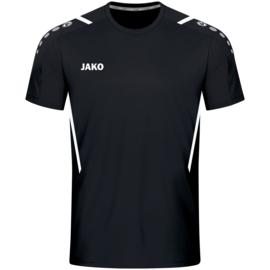 4221-802 Sportshirt Challenge Zwart wit