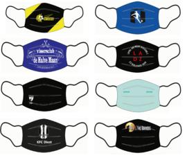 Personaliseerbare mondmaskers BG - 100 stuks