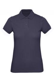 CGPW440 Polo Organic dames - Navyblauw