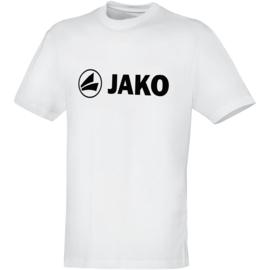 Katoenen T-shirt promo  wit (kids, unisex)