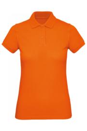 CGPW440 Polo Organic dames - Oranje