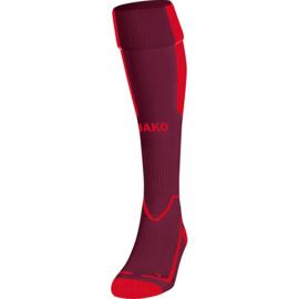 kousen Lazio bordeaux/rood