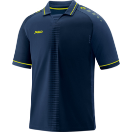 Shirt Competition 2.0 KM navy/lemon