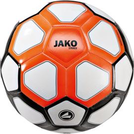 Trainingsbal Striker MS wit-fluo oranje-zwart maat 5