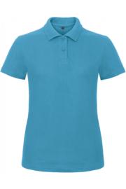 CGPWI11 Polo dames - Atoll blauw