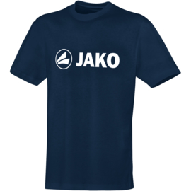 Katoenen T-shirt promo Navy (kids, unisex)