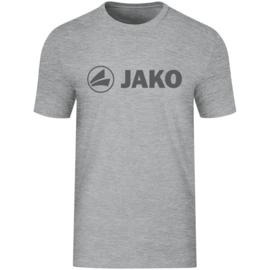 Promo T-shirt JAKO (katoen)  6160-520 Lichtgrijs gemeleerd