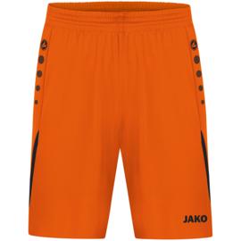 4421-351 Sportshort Challenge Fluo oranje zwart
