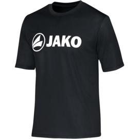 Functioneel  sportshirt promo zwart (kids, unisex)