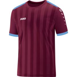 Shirt Porto 2.0 KM  bordeaux/hemelsblauw