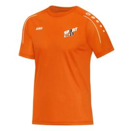 Teamshirt oranje