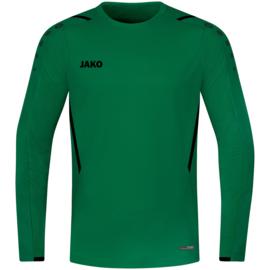 8821-201 Sweaters Challenge Sportgroen zwart