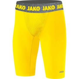Short Tight Compression 2.0 kids geel