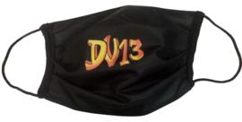 "Mondmasker ""DV13 black"" (herbruikbaar)"
