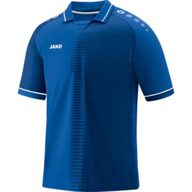Shirt Competition 2.0 KM royalblauwl/wit