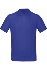 CGPM430 Polo Organic heren - Kobaltblauw