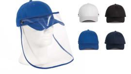 Pet met transparante visor
