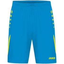 4421-443 Sportshort Jakoblauw fluogeel