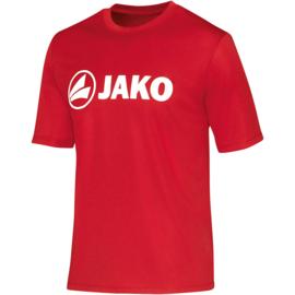 Functioneel  sportshirt promo  rood (kids, unisex)