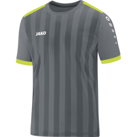 Shirt Porto 2.0 KM  steengrijs/lime