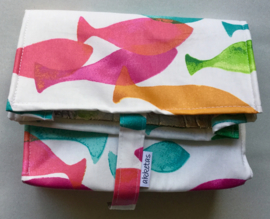 Lunchbag ISO, 18x29cm, voor koel fruit, drinken of brood, sluit met klittenband.