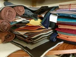 diverse kleuren, motieven en materialen.