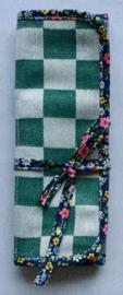 Bestekbag,stof met gecoate katoen,24x22(dicht 8cm).