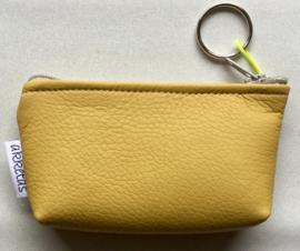 Portemonnee met sleutelring, kunstleer, 13x8cm