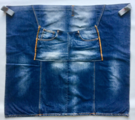 Schort denim, kort