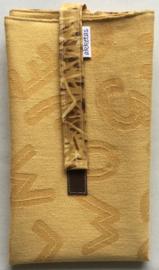 Lunchbag XL, sluiting met klittenband, 30x50cm