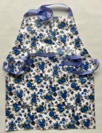 Kinderschort van gecoate katoen, 33x42 cm