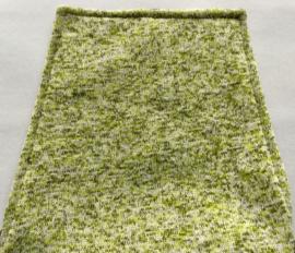 Kleptas kunstleer met tricot,  28x24cm