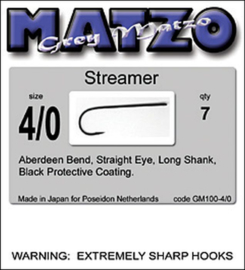 Grey matzo streamer