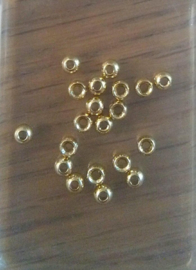 Tungsten gold beads