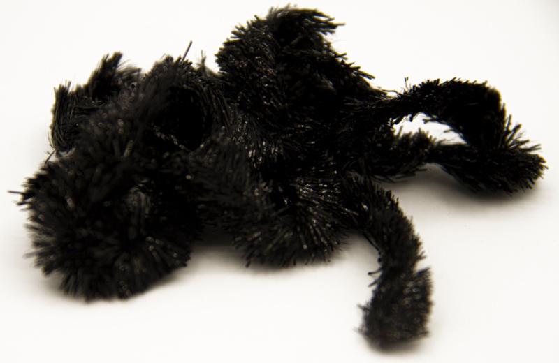 Semperfli solid chenille 15mm Black