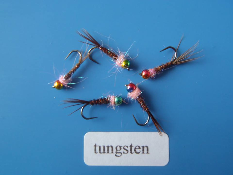Tungsten pheasant tail nimf