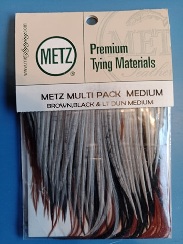 Metz Multi pack dry fly hackle M