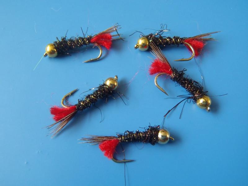 Redtag/pheasant tail (3 stuks)