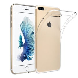 Apple iPhone 7 PLUS transparante soft case TPU