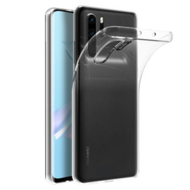Huawei P30 PRO transparante soft case TPU