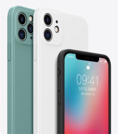 Apple iPhone 12 hoesje silicone kleur