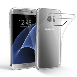 Samsung Galaxy S7 EDGE transparante soft case TPU
