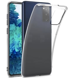 Samsung Galaxy S20 FE transparante soft case TPU