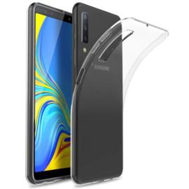 Samsung Galaxy A7 2018 transparante soft case TPU