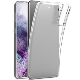 Samsung Galaxy S21 transparante soft case TPU